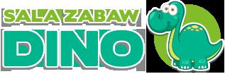 Logo sali zabaw Dino w Przysusze